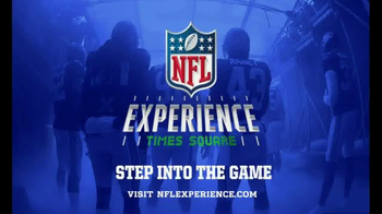NFL Experience Times Square TV Spot, 'Step into the Game' - Thumbnail 6