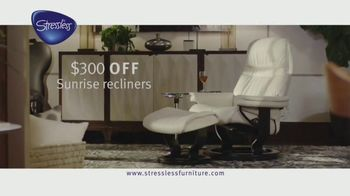 Ekornes Stressless Furniture TV Spot, 'Get More Luxury'