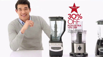 Macy's Super Weekend Sale TV Spot, 'Bedding and Kitchen' - Thumbnail 6