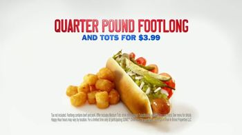 Sonic Drive-In $3.99 Footlong and Tots TV Spot, 'Limo' - Thumbnail 9