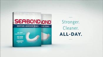 Sea Bond Denture Adhesive Seals TV Spot, 'New Look' - Thumbnail 4
