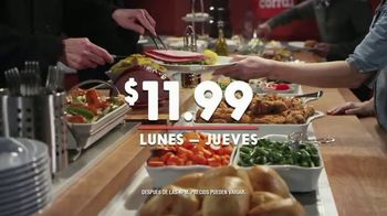Golden Corral Fresh Fire Grill TV Spot, 'Lunes a jueves' [Spanish] - 205 commercial airings