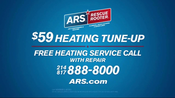 ARS Rescue Rooter TV Spot, 'Heating System Tune-Up' - Thumbnail 9