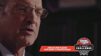 American Cancer Society TV Spot, '3-Point Challenge' Featuring Lon Kruger - 224 commercial airings
