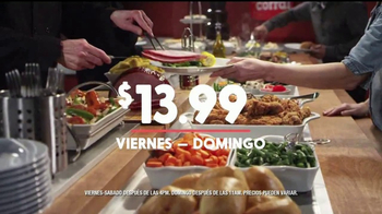 Golden Corral Fresh Fire Grill TV Spot, 'Deleitando el paladar' [Spanish] - Thumbnail 7