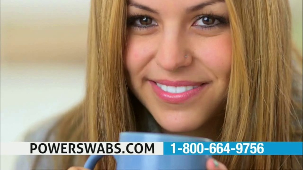 Power Swabs TV Commercial, 'Coffee Smile'
