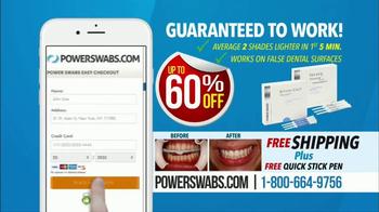 Power Swabs TV Spot, 'Coffee Smile' - Thumbnail 10