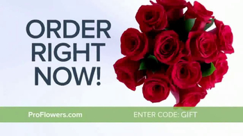 ProFlowers TV Spot, \'Valentine\'s Day: Red Roses\'