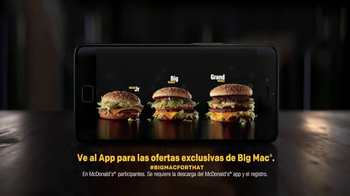 McDonald's Big Mac TV Spot, 'Tres tamaños' [Spanish] - Thumbnail 7