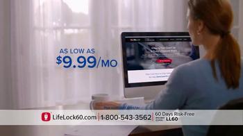 LifeLock TV Spot, 'Faces: V4' - Thumbnail 5