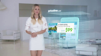 Priceline.com Express Deals TV Spot, 'Technology' Featuring Kaley Cuoco - Thumbnail 2