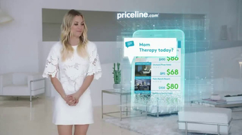 Priceline.com Express Deals TV Spot, 'Notifications' Featuring Kaley Cuoco - Thumbnail 4
