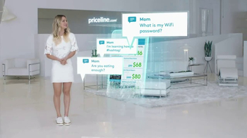 Priceline.com Express Deals TV Spot, \'Notifications\' Featuring Kaley Cuoco