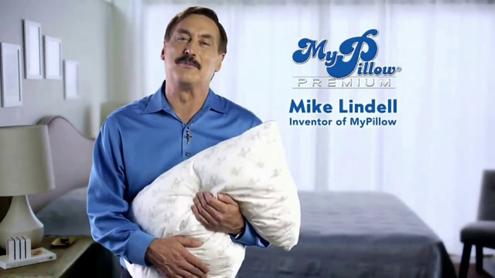 My Pillow Premium TV Commercial, 'Tossing and Turning'