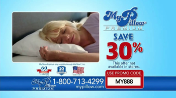 My Pillow Premium TV Spot, 'Tossing and Turning' - Thumbnail 9