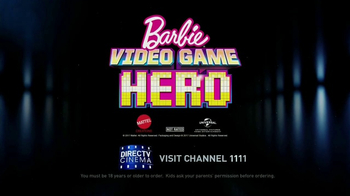 DIRECTV Cinema TV Spot, 'Barbie Video Game Hero' - Thumbnail 6