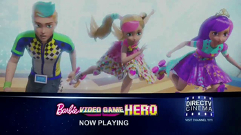DIRECTV Cinema TV Spot, 'Barbie Video Game Hero'