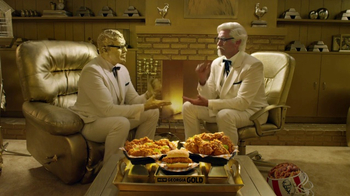 KFC TV Super Bowl 2017 Teaser, 'Rock, Paper, Scissors' Featuring Billy Zane