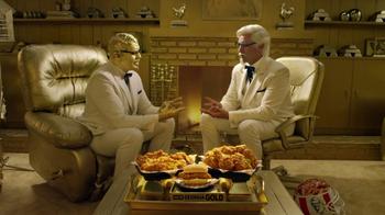 KFC TV Super Bowl 2017 Teaser, 'Rock, Paper, Scissors' Featuring Billy Zane - Thumbnail 3