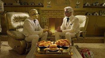 KFC TV Super Bowl 2017 Teaser, 'Rock, Paper, Scissors' Featuring Billy Zane - Thumbnail 4