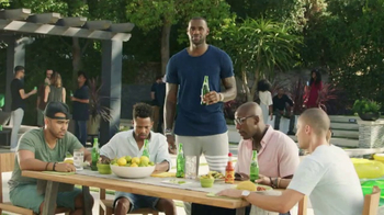Sprite TV Spot, 'LeBron James Eats Tacos With His Friends & Drinks Sprite' - 3705 commercial airings