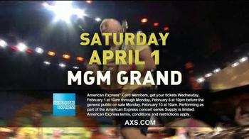 American Express Concert Series TV Spot, 'Jimmy Buffet: MGM Grand' - Thumbnail 7