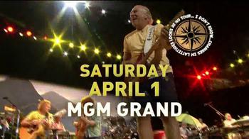 American Express Concert Series TV Spot, 'Jimmy Buffet: MGM Grand' - Thumbnail 3
