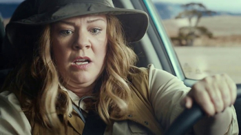 Super Bowl 2017 Teaser: Melissa McCarthy Escapes With Her Backup Camera [T1] thumbnail