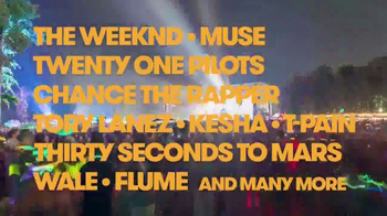 2017 Firefly Music Festival TV Spot, 'Fuse: 2017 Lineup' - Thumbnail 5