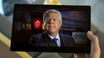 Pizza Hut TV Spot, 'FOX Sports: Party Time' Featuring Jimmy Johnson - 1 commercial airings