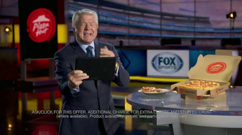 Pizza Hut TV Spot, 'FOX Sports: Party Time' Featuring Jimmy Johnson - Thumbnail 4