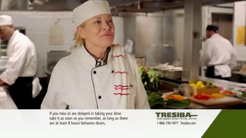 Tresiba TV Spot, 'In the Kitchen & On Call' - Thumbnail 2