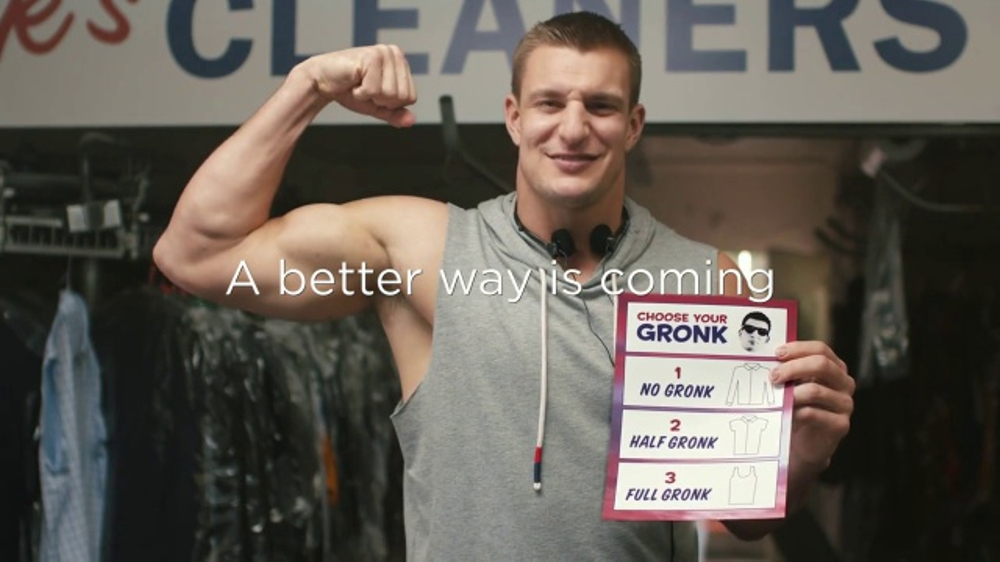Tide Super Bowl 2017 Teaser Choose Your Gronk Featuring