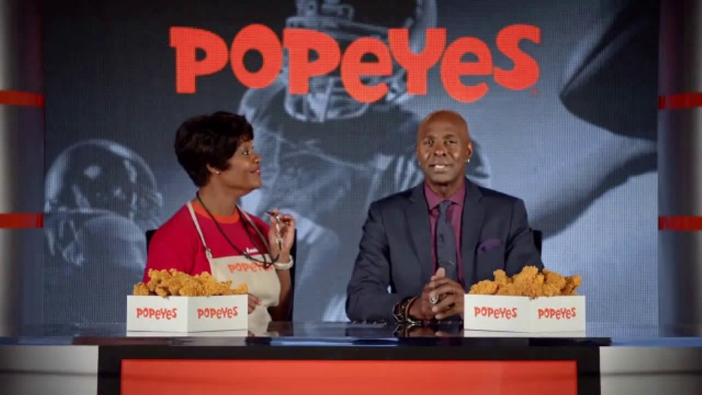 Popeyes Big Game Bundle TV Commercial, 'Start the Party' Featuring Jerry Rice