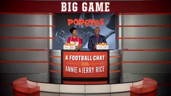 Popeyes Big Game Bundle TV Spot, 'Start the Party' Featuring Jerry Rice - Thumbnail 1