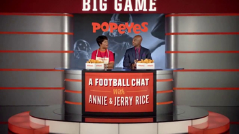 Popeyes Big Game Bundle TV Spot, 'Start the Party' Featuring Jerry Rice - Thumbnail 2