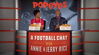 Popeyes Big Game Bundle TV Spot, 'Start the Party' Featuring Jerry Rice - Thumbnail 3