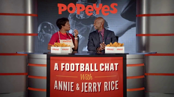 Popeyes Big Game Bundle TV Spot, 'Start the Party' Featuring Jerry Rice - Thumbnail 4