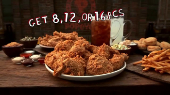 Popeyes Big Game Bundle TV Spot, 'Start the Party' Featuring Jerry Rice - Thumbnail 7