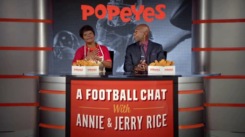 Popeyes Big Game Bundle TV Spot, 'Start the Party' Featuring Jerry Rice - Thumbnail 9