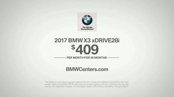 2017 BMW X3 xDRIVE28i TV Spot, 'Keep It Clean' [T2] - Thumbnail 7