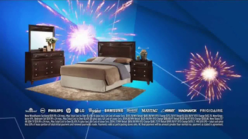 Aaron's Anniversary Sale TV Spot, 'Sectional, Bedroom & TV' - Thumbnail 5