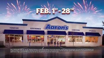 Aaron's Anniversary Sale TV Spot, 'Sectional, Bedroom & TV' - Thumbnail 9