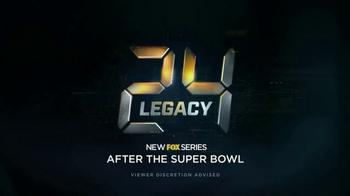 24: Legacy Super Bowl 2017 TV Promo - Thumbnail 7