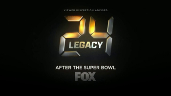 24: Legacy Super Bowl 2017 TV Promo, 'The Clock Resets'
