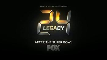 FOX: 24: Legacy Super Bowl 2017 TV Promo: The Clock Resets
