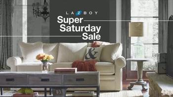 La-Z-Boy Super Saturday Sale TV Spot, 'Super Markdowns' - Thumbnail 1