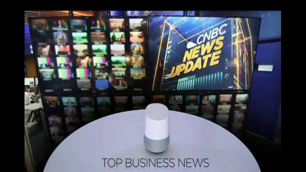 Google Home TV Commercial, 'CNBC: News Updates'