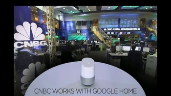 Google Home TV Spot, 'CNBC: News Updates' - Thumbnail 2