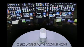 Google Home TV Spot, 'CNBC: News Updates' - Thumbnail 3